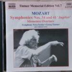 モーツァルトの名盤 ティントナー カリスマ前のライブ名演