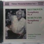 ティントナーのシューマン第2交響曲 ブルックナーを彷彿